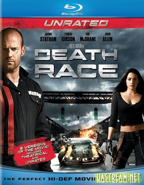Смертельні перегони / Death Race [Unrated] (2008) BDRip | Ukr + Eng