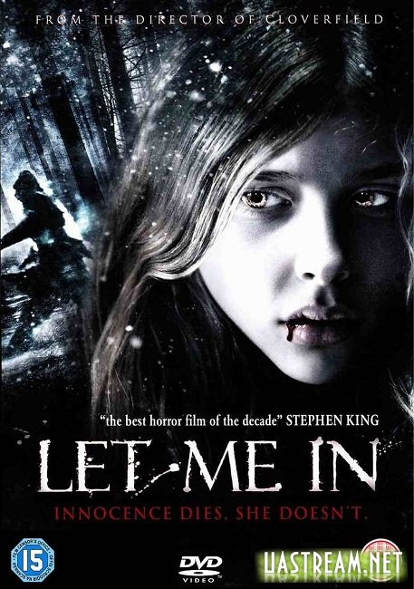 Впусти мене / Let Me In (2010) BDRip | Ukr + Eng